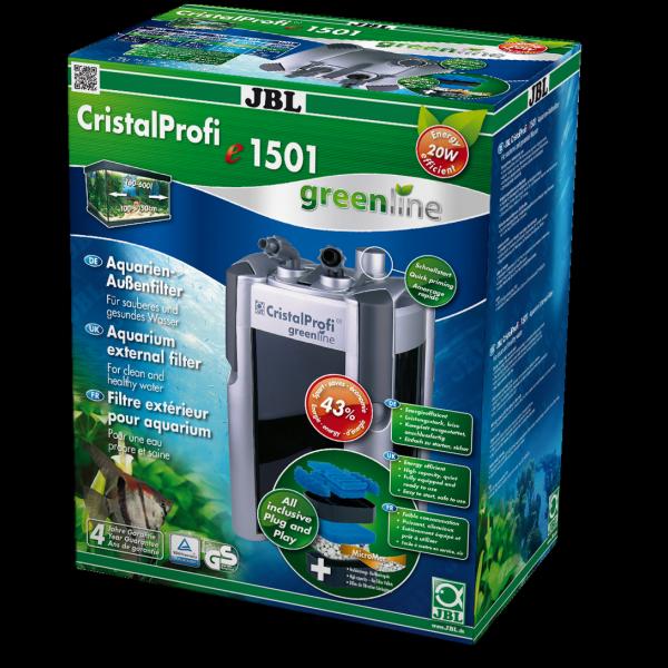 Фильтр внешний JBL CristalProfi e1501 greenline (от 200 до 700 л) - 1