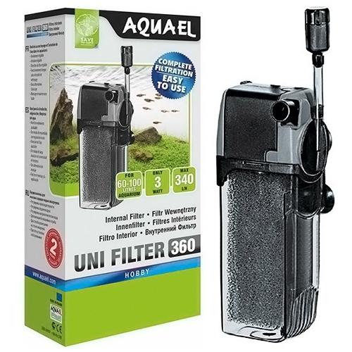 Фильтр внутренний AQUAEL UNIFILTER 360 (от 60 до 150 л) - 1