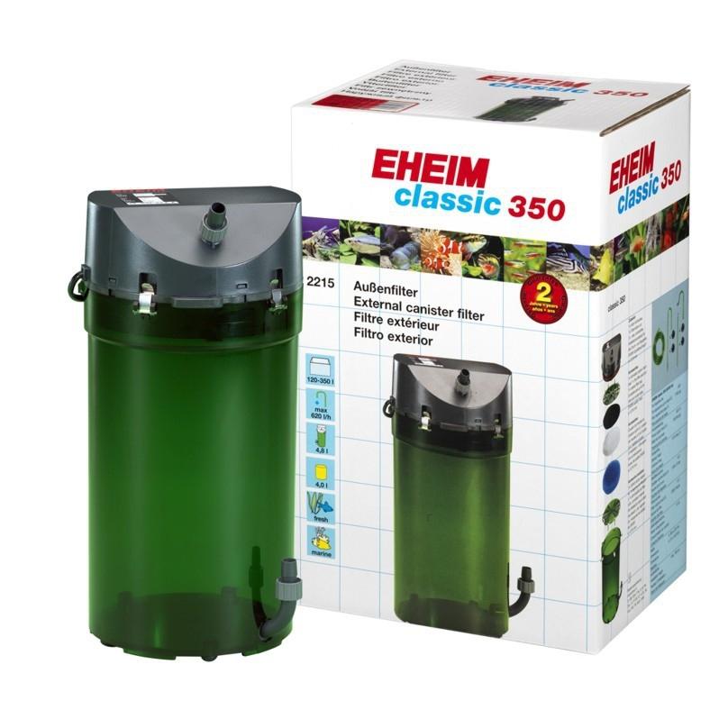 Фильтр внешний Eheim CLASSIC 350 (2215) (от 200 до 350 л) с био наполнителем - 1