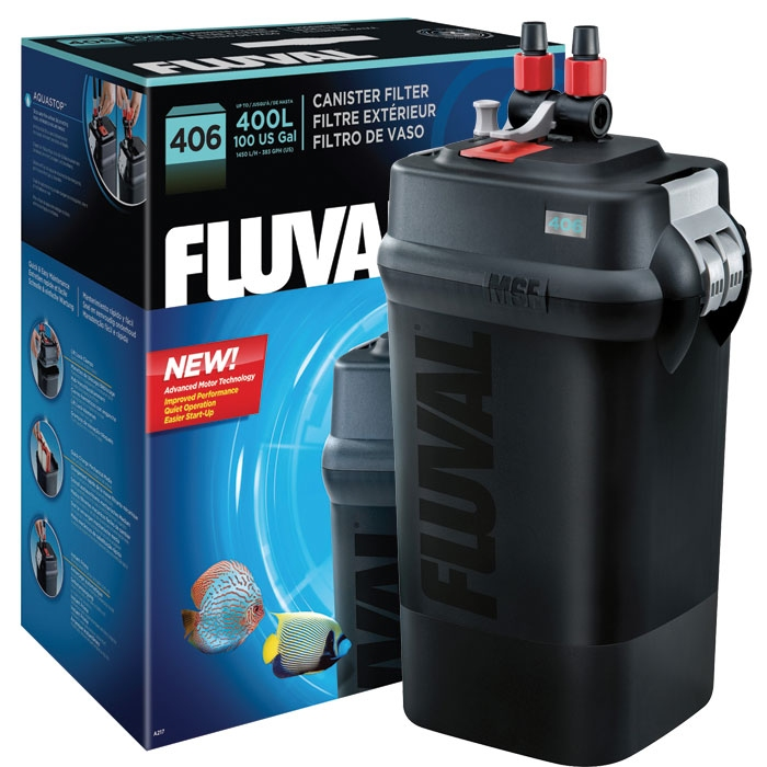 Фильтр внешний FLUVAL 406 (от 200 до 400 л) - 2