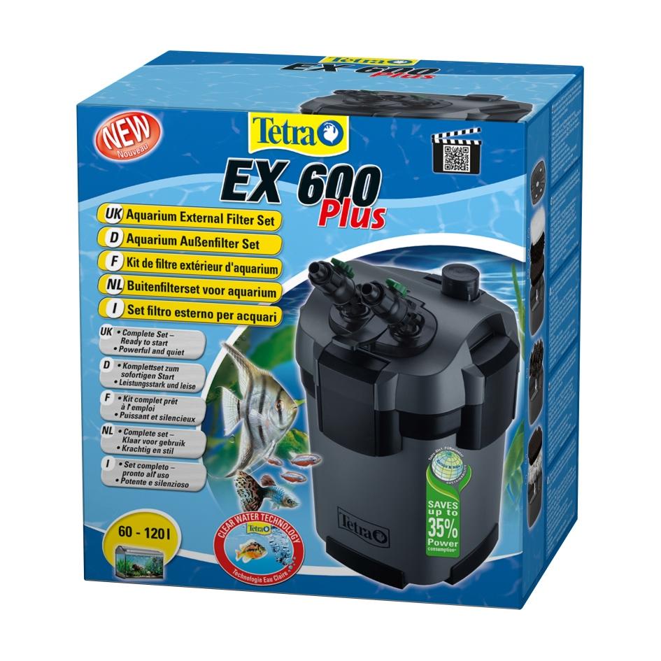 Фильтр внешний Tetra EX600 plus (от 60 до 120 л) - 1