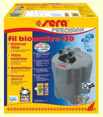 Внешний фильтр SERAfil BIOACTIVE 130 + УФ (от 80 до 130 л) - 1