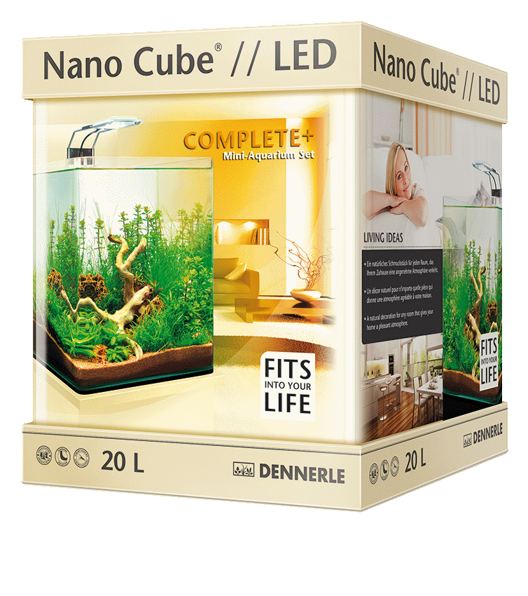 Аквариум Dennerle NanoCube Complete Plus NanoPower LED 10 (10 л)