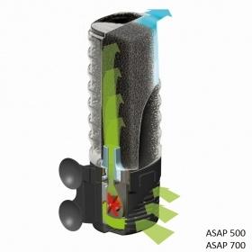 Фильтр внутренний Aquael ASAP 500 500 л/ч (от 50 до 150 л) - 1