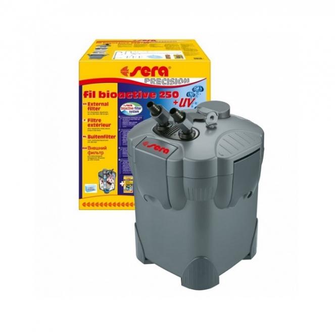 Внешний фильтр SERAfil BIOACTIVE 250 + УФ (от 100 до 250 л) - 1