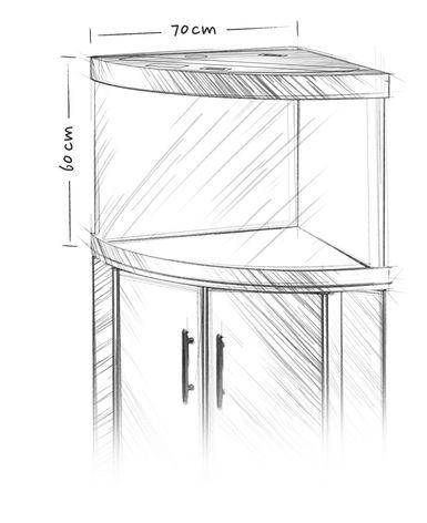 Аквариум Juwel Trigon 190 (190 л) - 1