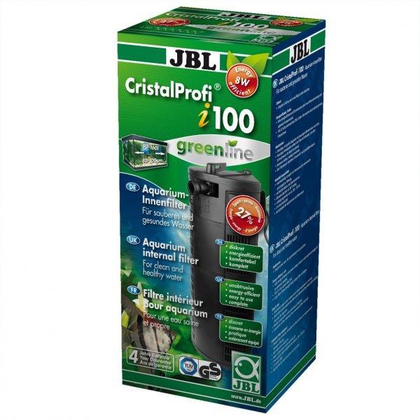 Внутренний угловой фильтр JBL CristalProfi i100 greenline (от 90 до 160 л) - 1