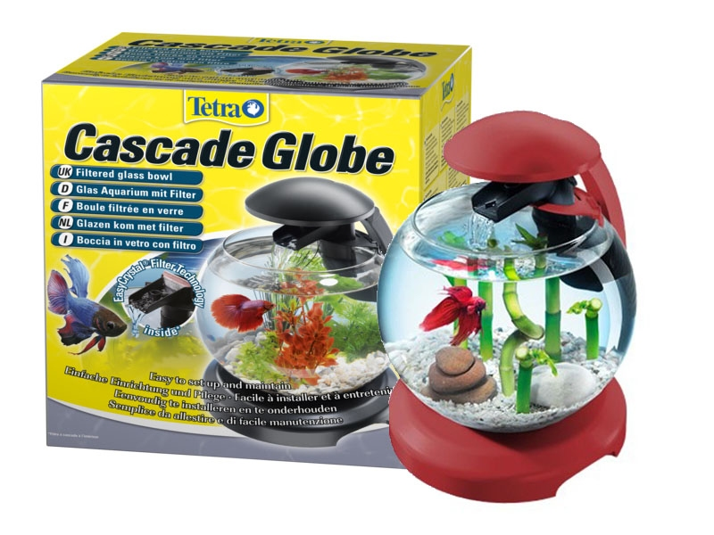 Аквариум Tetra Cascade Globe со светильником (6,8л) - 1