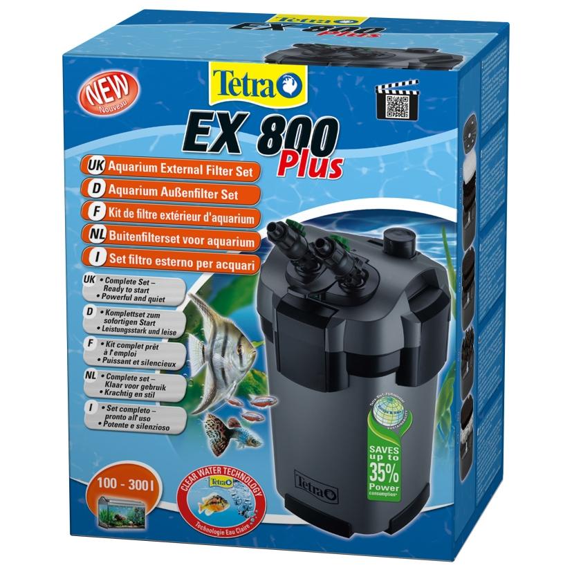 Фильтр внешний Tetra EX800 plus (от 100 до 300 л) - 1