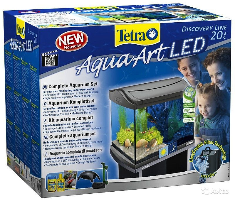 Аквариум Tetra AquaArt LED Goldfish (20 л) - 1