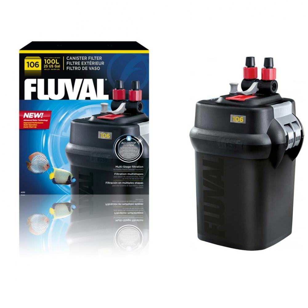 Фильтр внешний FLUVAL 106 (от 10 до 100 л) - 1