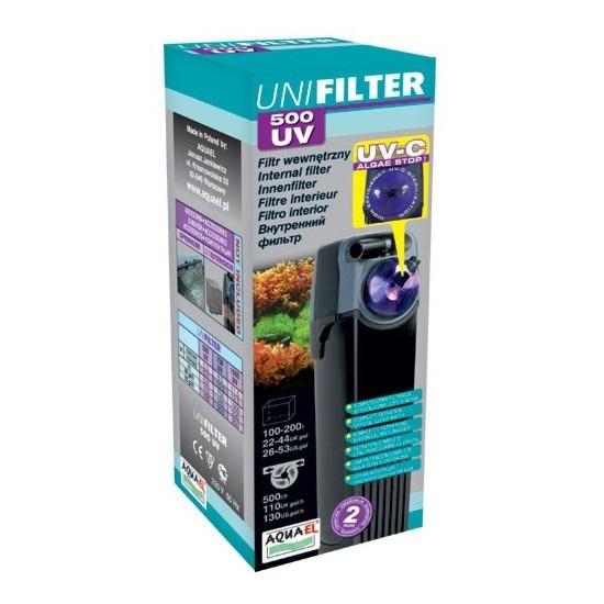 Фильтр внутренний AQUAEL UNIFILTER 500 UV POWER (от 100 до 200 л) - 2
