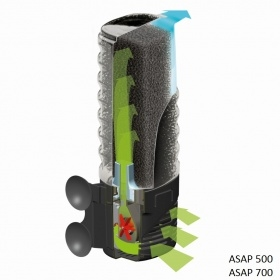 Фильтр внутренний Aquael ASAP 700 650л/ч (от 100 до 250 л) - 1