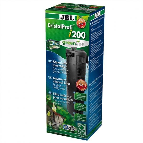 Внутренний угловой фильтр JBL CristalProfi i200 greenline (от 130 до 200 л) - 1