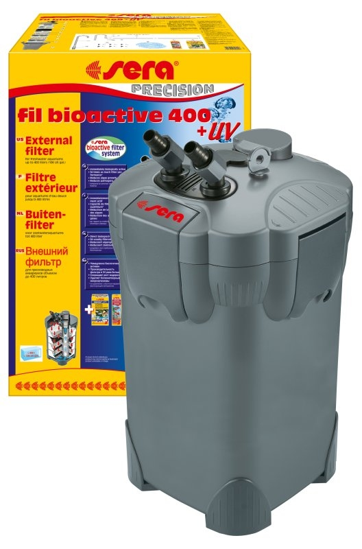 Внешний фильтр SERAfil BIOACTIVE 400 + УФ (от 200 до 400 л) - 1