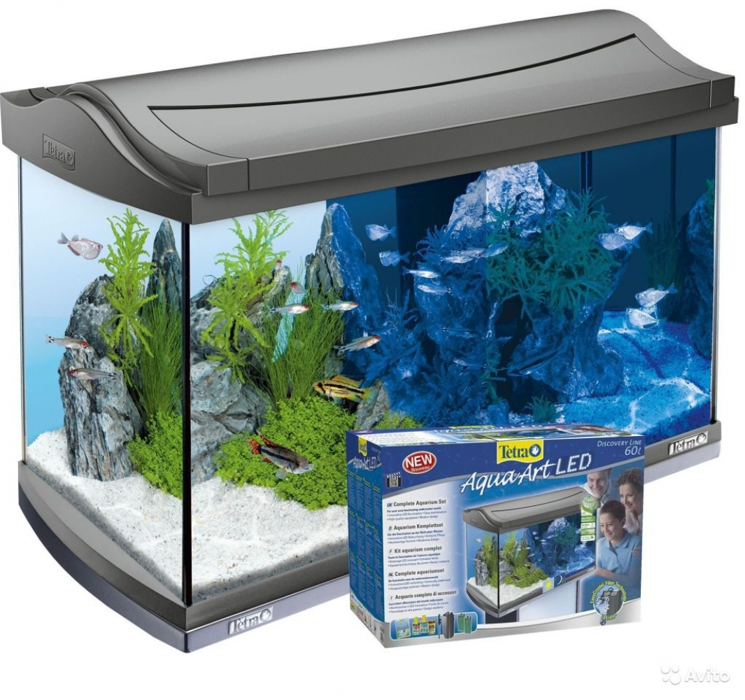 Аквариум Tetra AquaArt LED Tropical (60л)