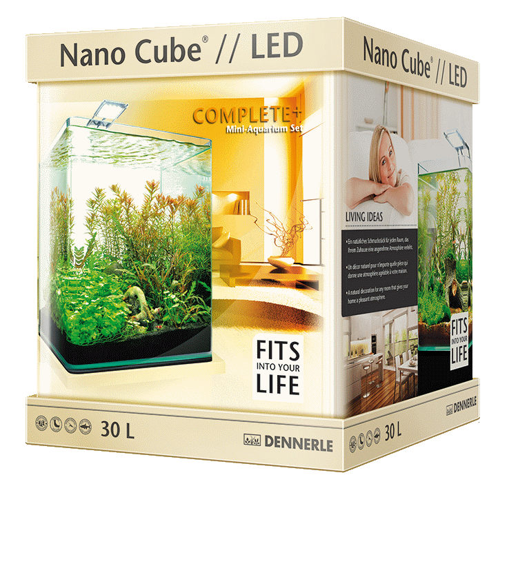 Аквариум Dennerle NanoCube Complete Plus Nano Power LED 30 (30 л)