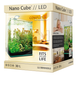 Аквариум Dennerle NanoCube Complete Plus Nano Power LED 30 (30 л) - 17318
